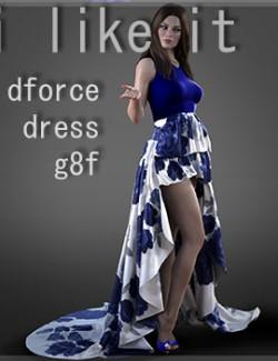 I like it dForce Dress for G8F