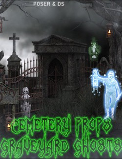 Cemetery Props and Graveyard Ghosts
