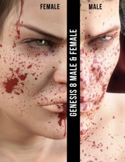 Blood Splash for Genesis 8
