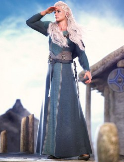 dForce Marida Gown Outfit for Genesis 8 Females