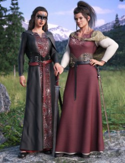 dForce Marida Gown Outfit Textures