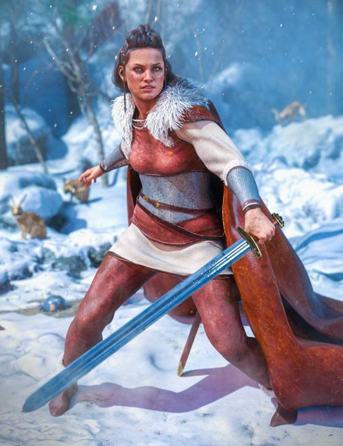 dForce Sigurd Outfit for Genesis 8 Females