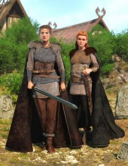 dForce Sigurd Outfit Textures