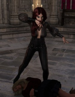 Vampiresque Poses for Genesis 8 Female