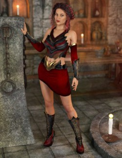 Dragonette Outfit for Genesis 8 Female(s)