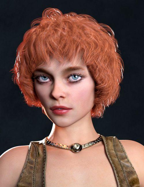 Ava Hair for Genesis 8 Females