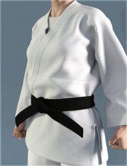 dForce HnC Judo Suit for Genesis 8 Females