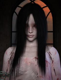 Prae-Wraith Hair For G8 Daz