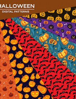 Digital Patterns- Halloween