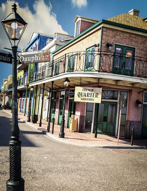 SW French Quarter - Grocer's Corner