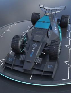 Electron Stealth Car