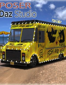 Food Truck for DS & Poser