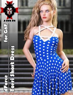 JMR dForce Torri Short Dress for G8F