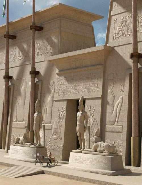 Deepsea Egyptian Ancient Temple