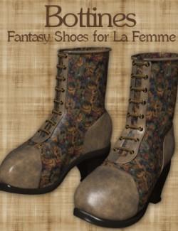 Bottines Fantasy shoes for La Femme