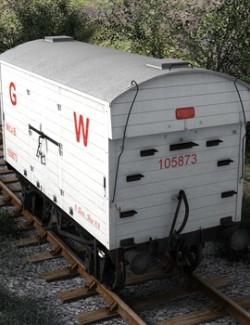 GWR Mica B Refrigerated Van