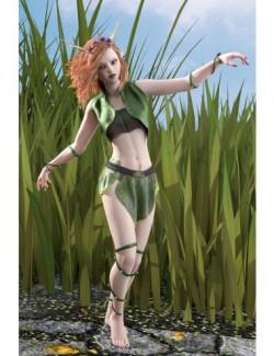 dForce Thorn Dryad Outfit for Genesis 8 Females