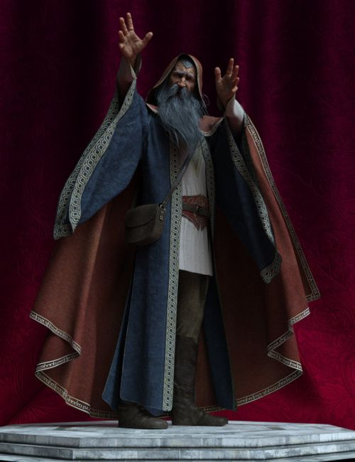 Wizard Poses for Genesis 8 Male
