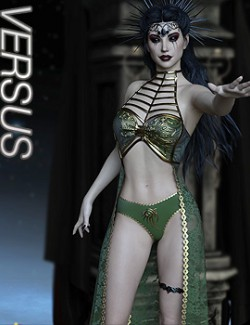 VERSUS - dForce Sanguine Outfit for Genesis 8 Females