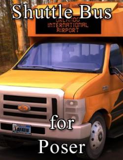 Shuttle Bus for Poser