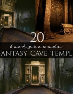 Fantasy Cave Temple
