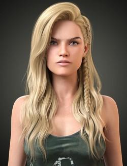 Ellie Hair for Genesis 8 Females