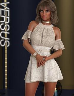 VERSUS- dForce Leyla Outfit for Genesis 8 Females