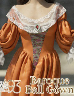 a93 - Baroque Ball Gown for G8F