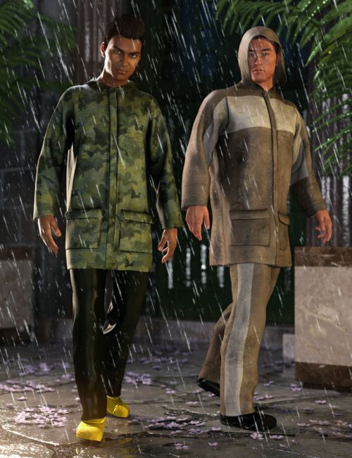 dForce Wet Weather Gear: Steward