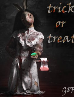 Trick or Treat dForce Dress for G8F