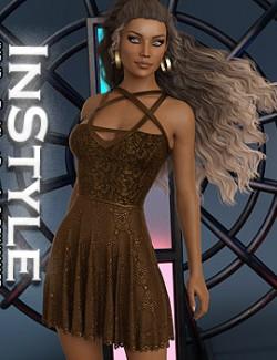 InStyle- JMR dForce Torri Short Dress for G8F