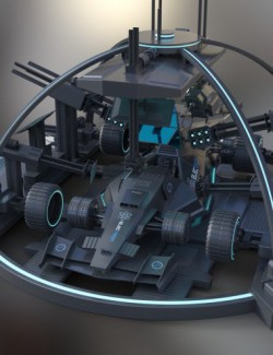Base Station for Electron Stealth Car