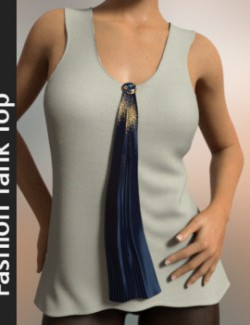 dForce Fashion TankTop for Genesis 8 Female