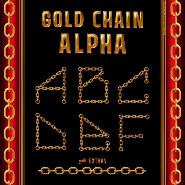 Gold Chain Alpha with Extras