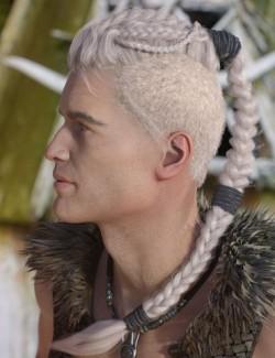 Ilias Hair for Genesis 8