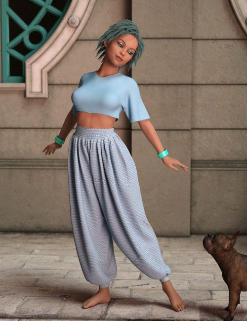 AQ Lulu for Genesis 8 Female