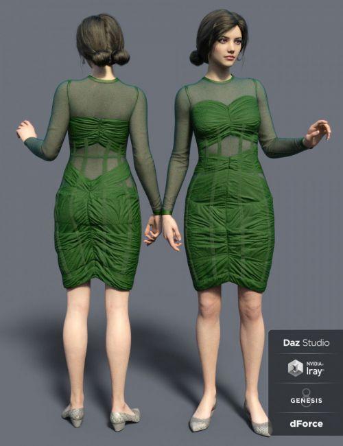 dForce NM Outfit for Genesis 8 Females