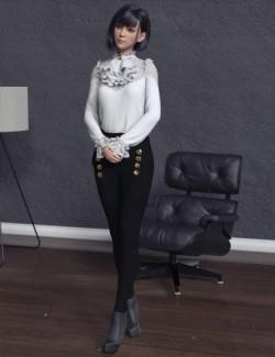 dForce Kaoru Outfit for Genesis 8 Females