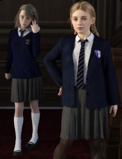 dForce Time For School for Genesis 8 Females