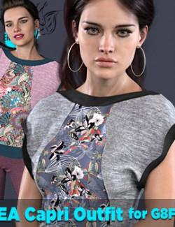 EA Capri Outfit for Genesis 8 Female(s)