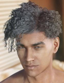 dForce Hayden Hair for Genesis 8