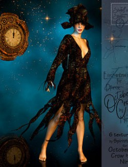 Enchantments for Dforce October Crow Outfit