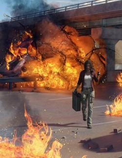 Muelsfell Fire Storm Iray FX