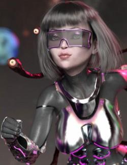 Mst Gazer Grrl HD for Genesis 8 Female
