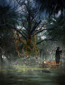Goresskull Copse Halloween Trees
