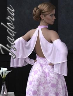 Isadora dForce dress for Genesis 8 Females