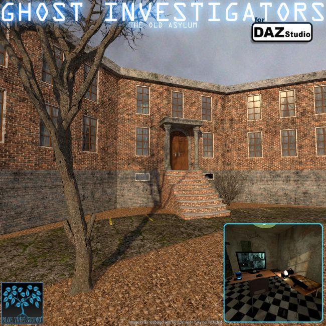 Ghost Investigation for Daz Studio
