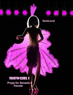 ShowGirl I: Props for Genesis 8 Females