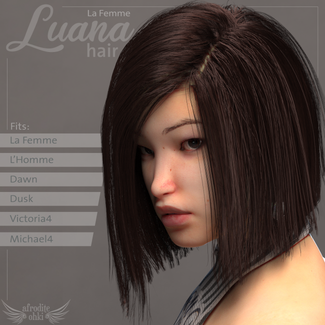 Luana Hair for La Femme and more