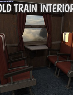 Modular 3D Kits: Old Train Interior